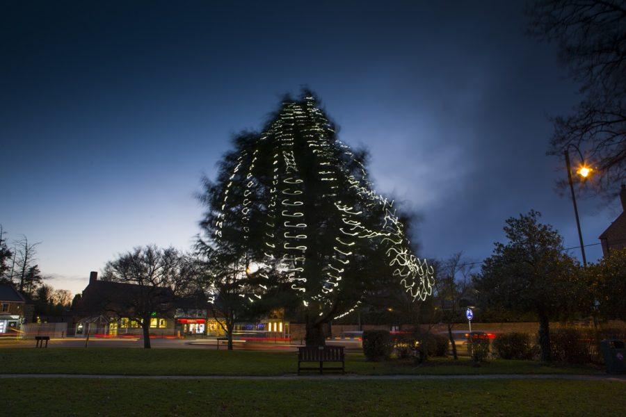 Christmas Light Display Main Street