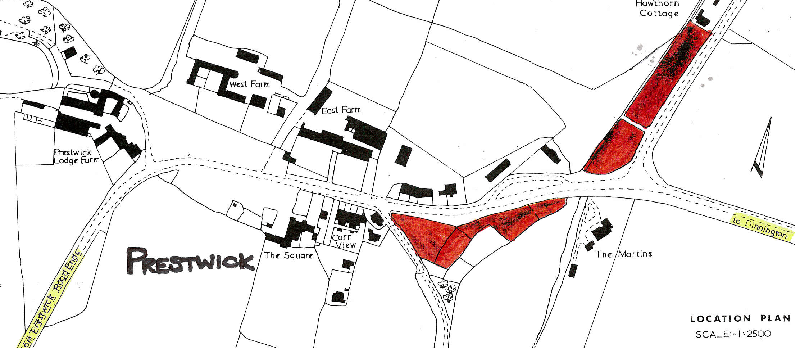Location Of Allotments In Prestwick Village