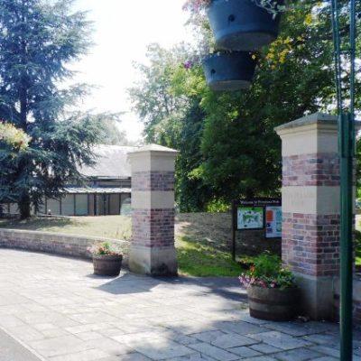 Main Park Entrance From Main Street