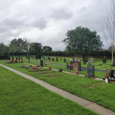 Prestwick Cemetery Graves 2