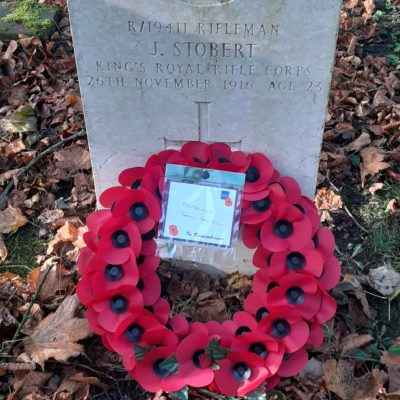 Stobert War Grave Photo