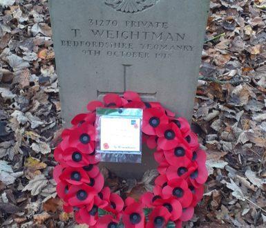 Weightman War Grave Photo