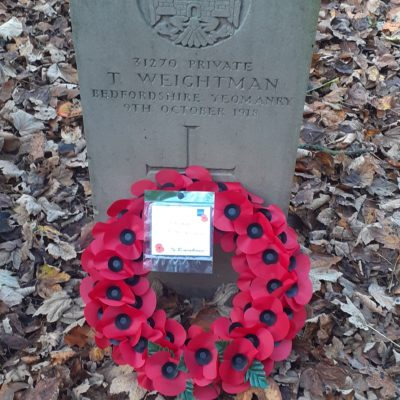 Weightman War Grave Photo